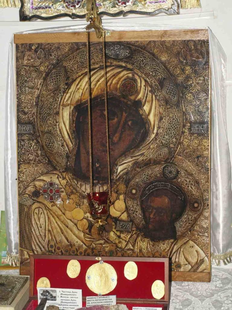 Список с иконы Божией Матери Иверская, находящийся в селе Береговое