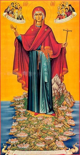 Игуменья горы Афонской