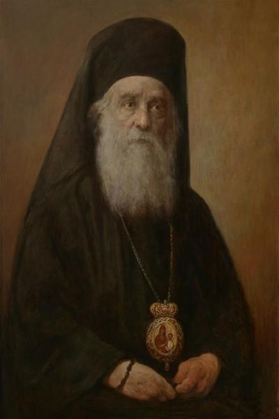 Святитель Нектарий Эгинский. Живописный портрет XXI века