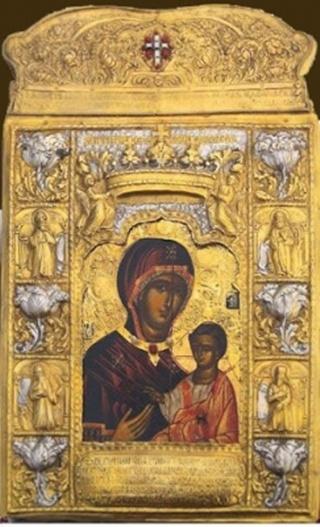 Икона Божией Матери Панагия Сумела
