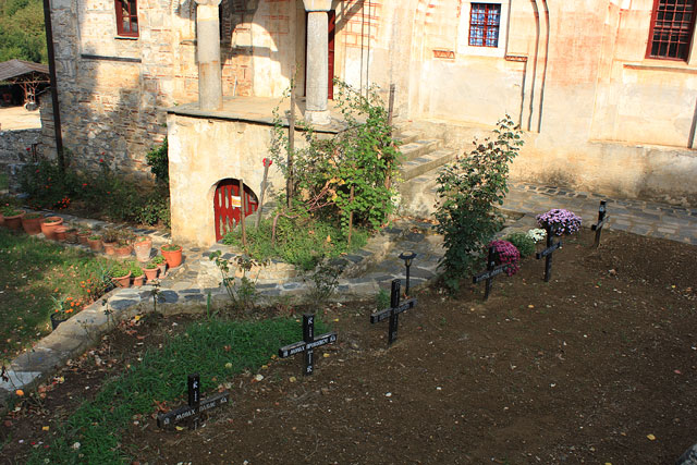Кладбище на Афоне