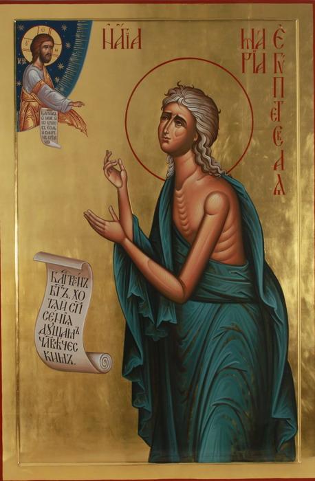 Преподобная Мария Египетская - пример глубочайшего покаяния