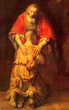 Притча о блудном сыне - образ кающегося грешника