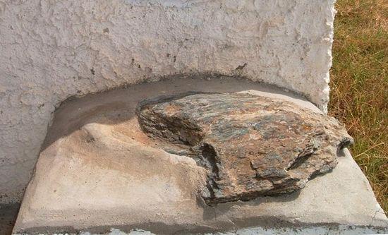 Камень, на котором стоял Косма Этолийский во время своей проповеди