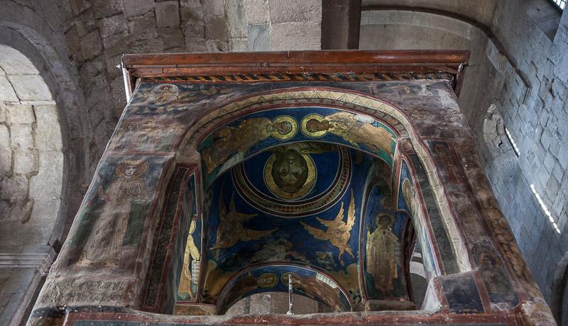 Башня над Хитоном Господним - фрагмент росписи