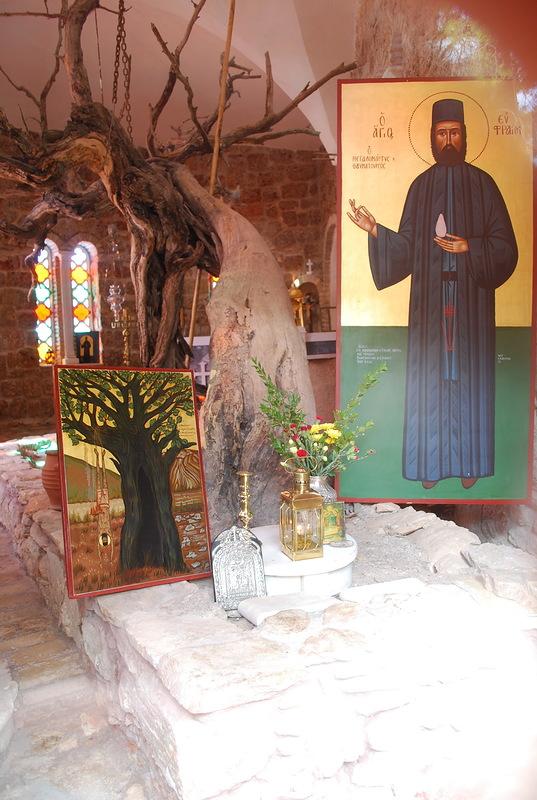 Моностырь Благовещения деревни Нео Макри - место казни