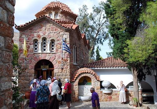 Моностырь Благовещения деревни Нео Макри