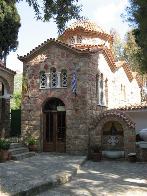 Неа Макри Монастырь святого Ефрема