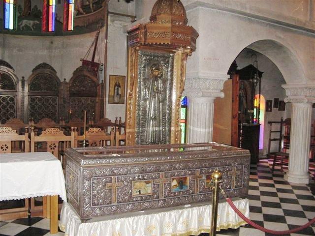 Неа-Макри - рака с мощами Святого Ефрема