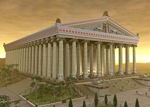 Античный храм Дианы в Эфесе
