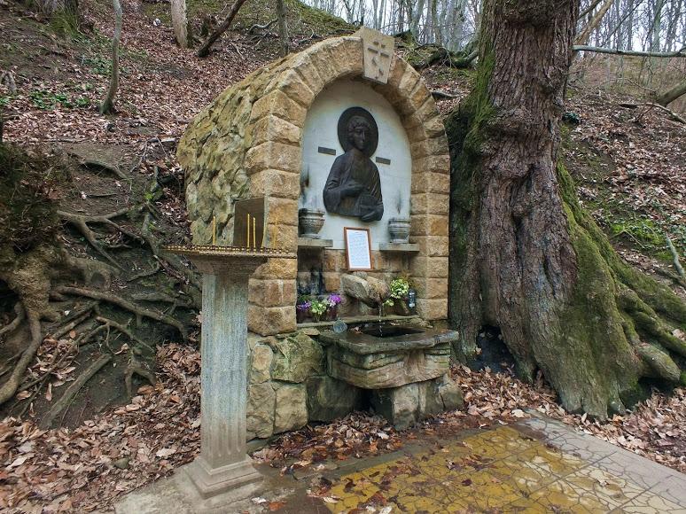 Святой источник Блаженной Матроны Московской в селе Фанагория