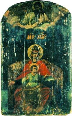 Державная икона Божией Матери. Оригинал