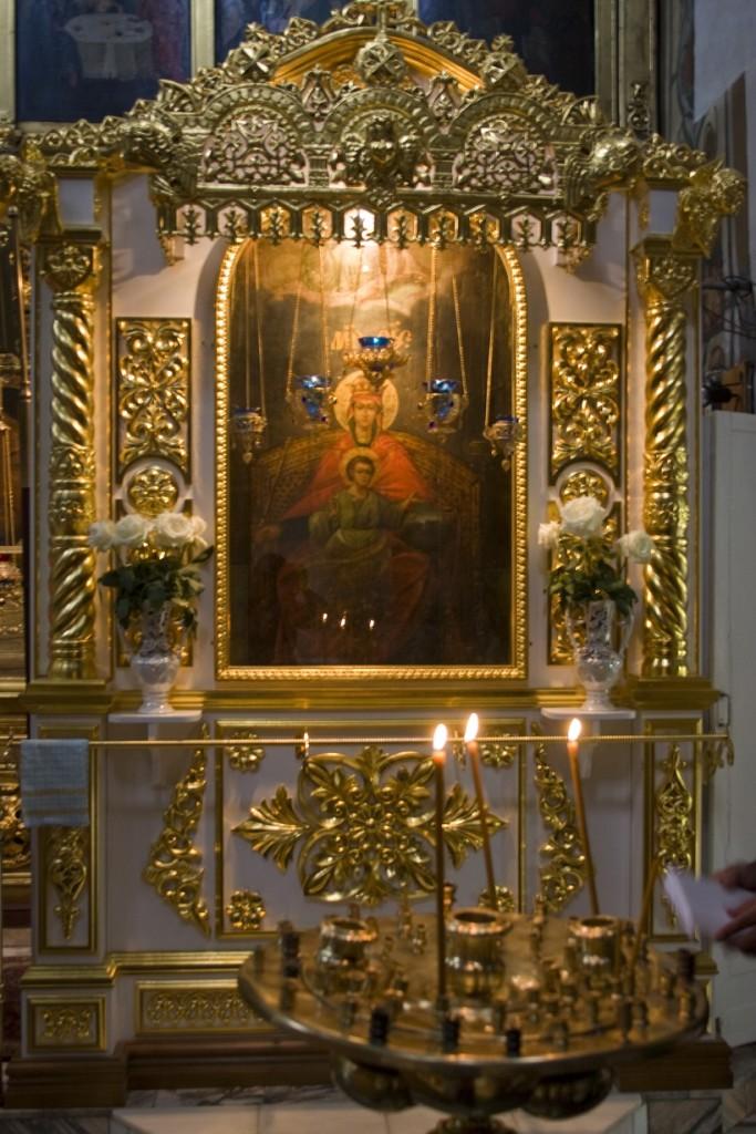 Чудотворная икона Божией Матери ''Державная'' в Коломенском