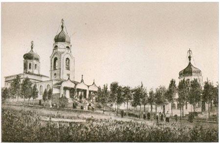 Соборный храм во имя Успения Богоматери. Конец XIX века