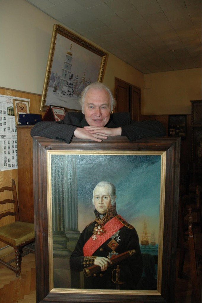 Валерий Николаевич Ганичев - историк занимавшийся материалами прославления Феодора Ушакова
