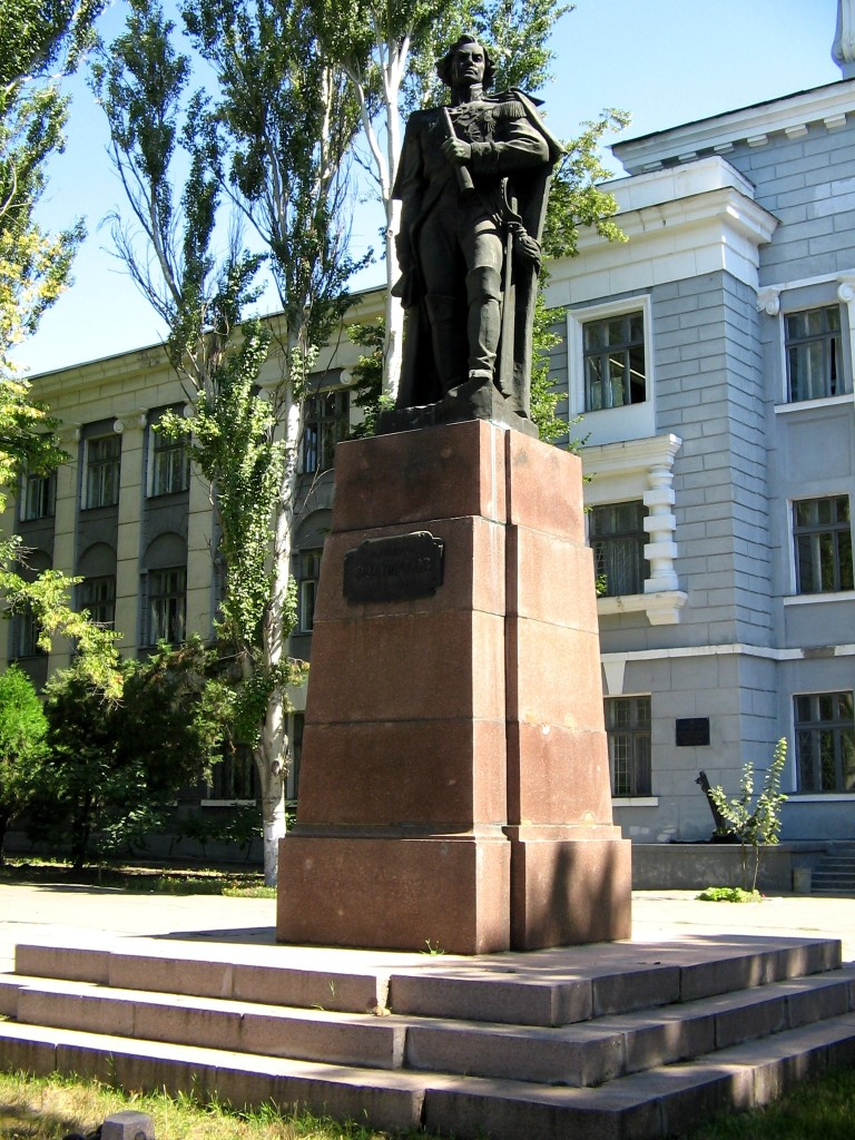 Монумент Ушакову в Херсоне