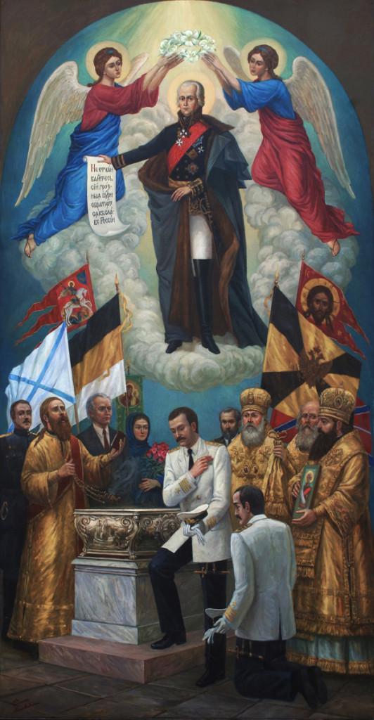 Москвитин Филипп Александрович Прославление святого праведного адмирала Феодора Ушакова