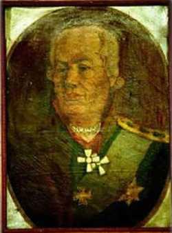 Портрет из Темниковскго музея, начало XIX века