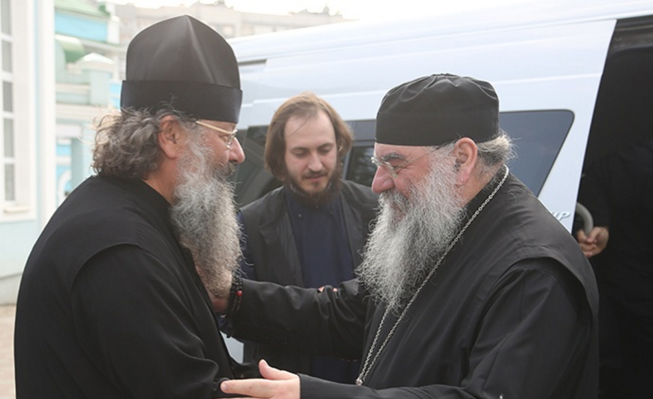 Приезд митрополита Афанасия Лимасольского в Екатеринбург