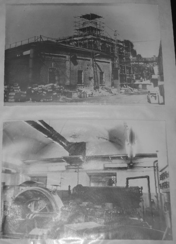 Вид храма Рождества Богородицы (места погребения) до реставрации