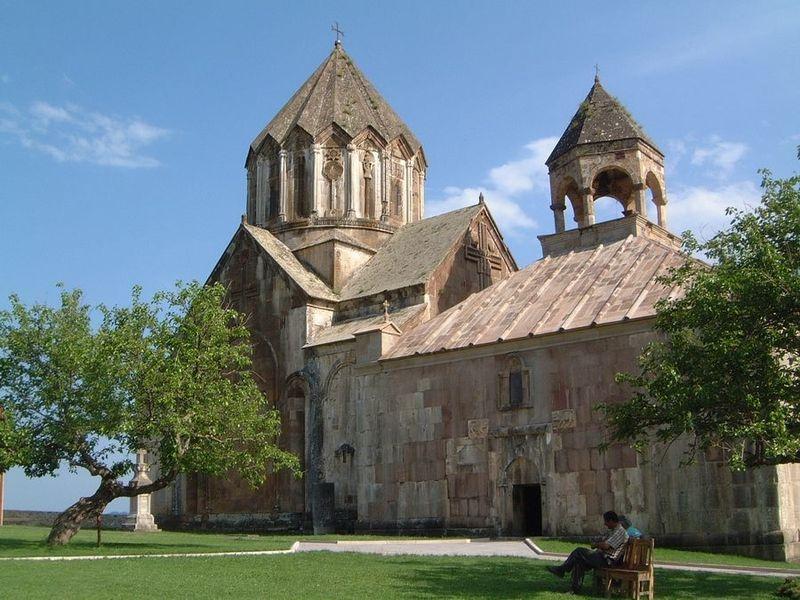 Гандзасарский монастырь. Нагорный Карабах