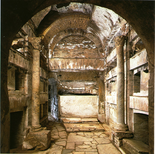 Крипта пап (Cripta dei Papi) в Сан-Каллисто