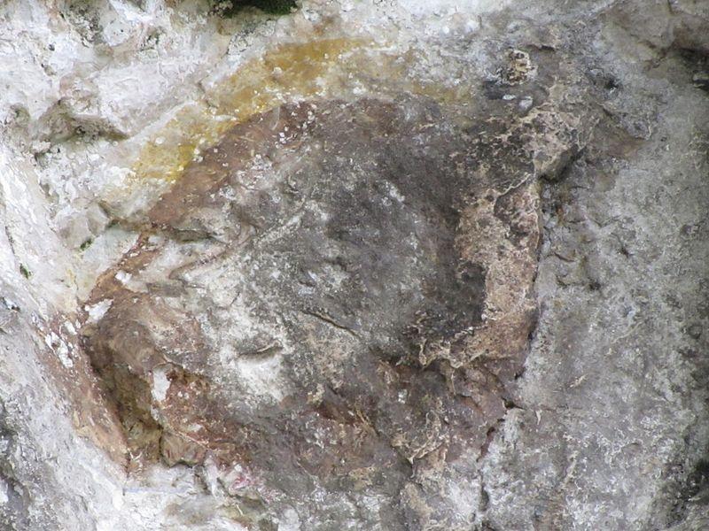 Нерукотворный образ Главы на скале в Абхазии