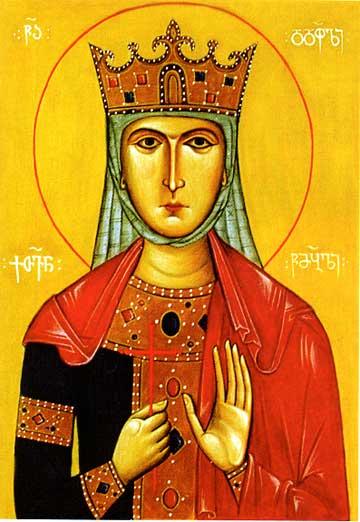 Святая Великомученицы Кетеван - царица Кахетинская