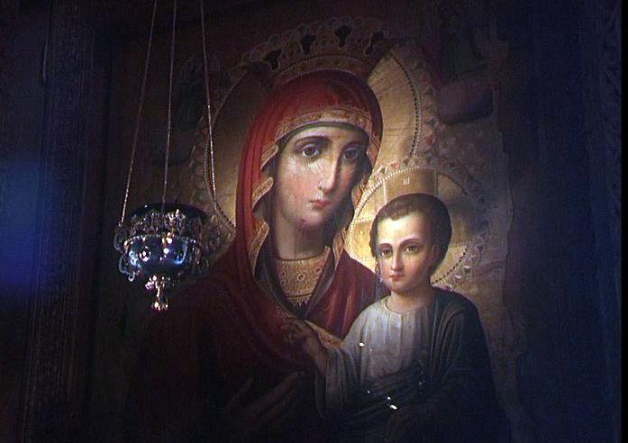 Бодбе. Чтимая Иверская икона Пресвятой Богородицы