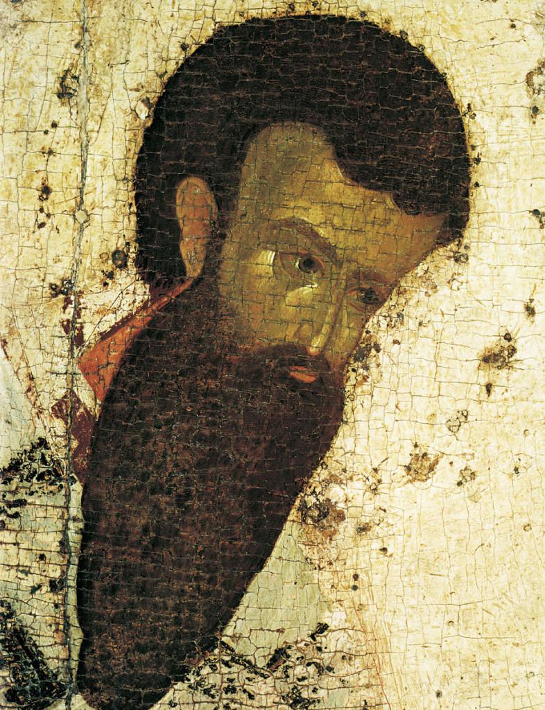 Василий Великий Феофан Грек. Деисусный ряд, конец XIV- начало XV века. Благовещенский собор в Московском Кремле.