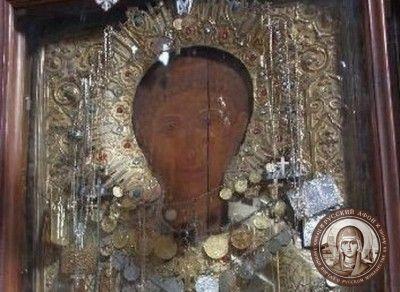 Чудотворная икона святого Стефана на Афоне