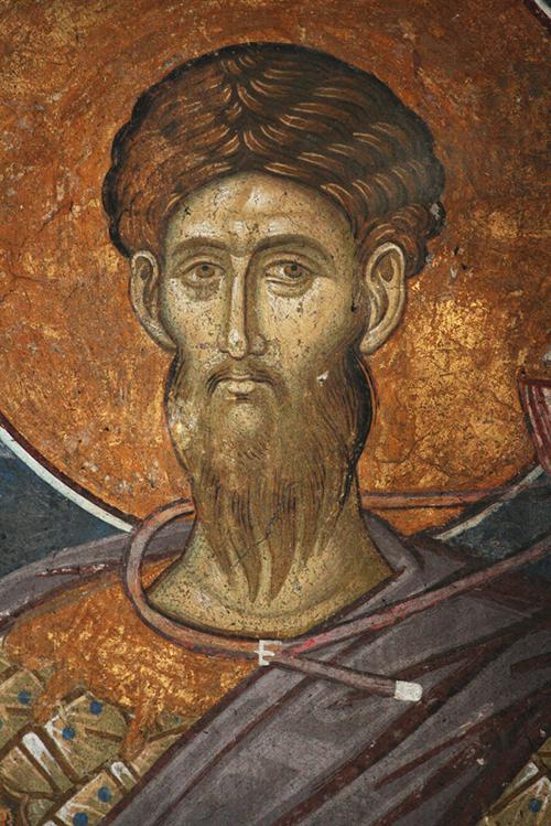 Св. вмч. Феодор Тирон. Монастырь Высокие Дечаны. Сербия, Косово. 14 в.