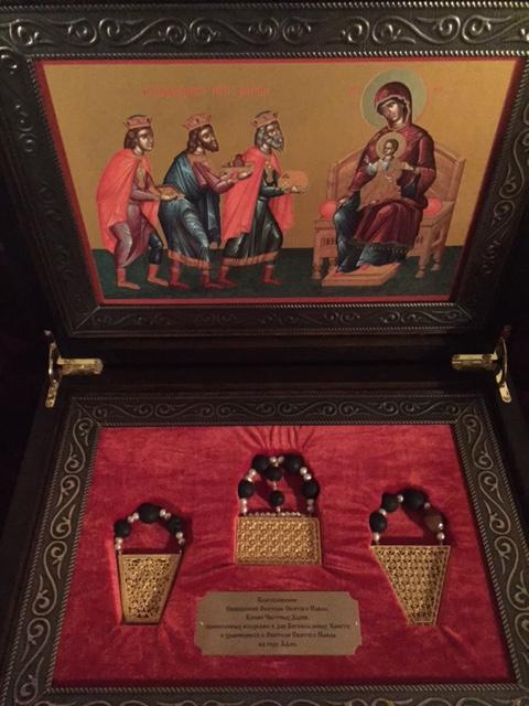 Копии Честных Даров изготовленные для нашей обители
