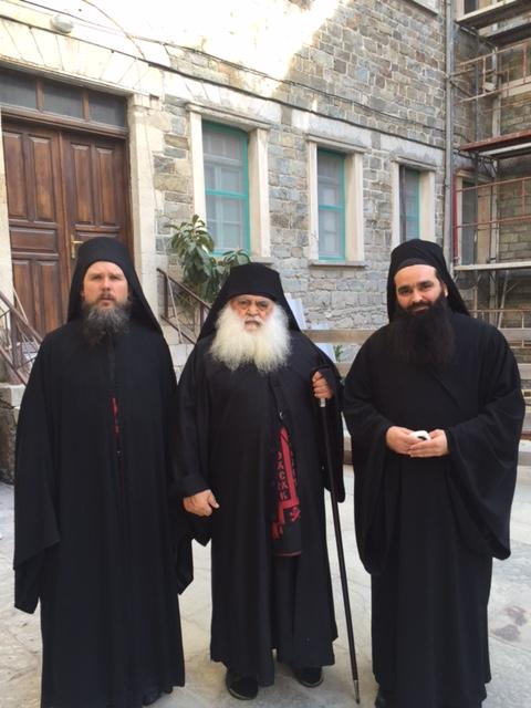 Настоятель монастыря Святого Павла схиархимандрит Парфений