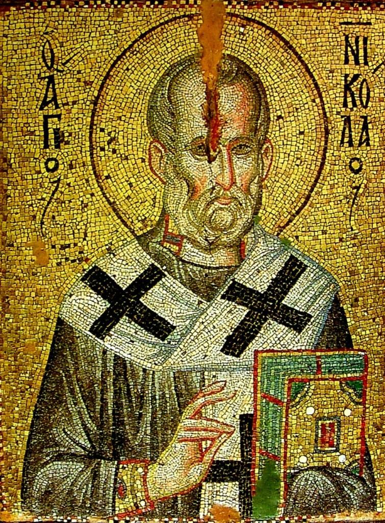 Устричная икона Святителя Николая