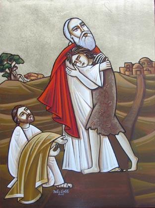 Икона Возвращение блудного сына