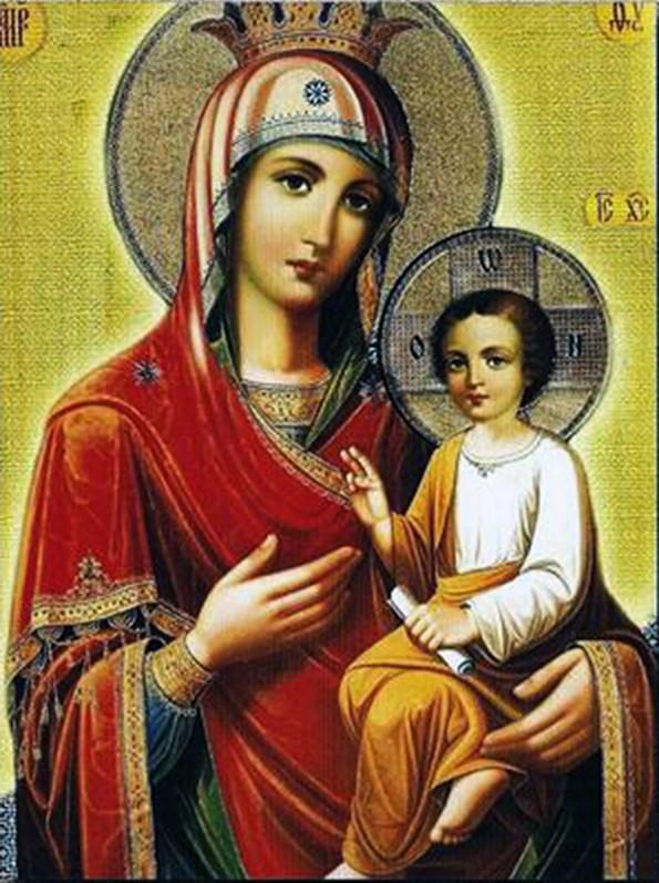 Список Хозевитской иконы Божией Матери