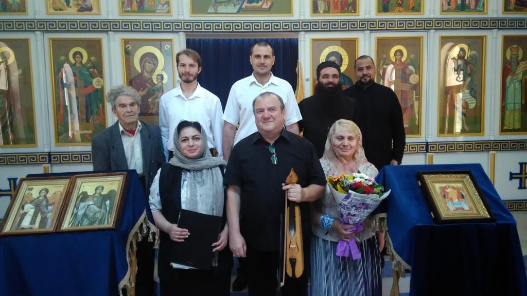 Концерт Византийского пения
